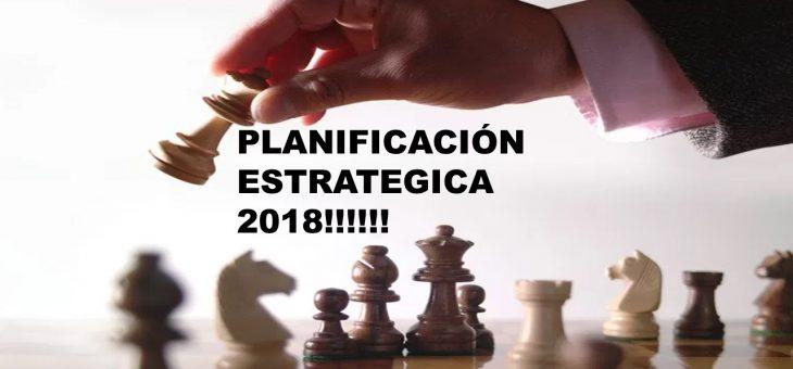 Planificación Estratégica 2018!!!!